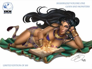 Shahrazad Vol. 1 Wrap-Around